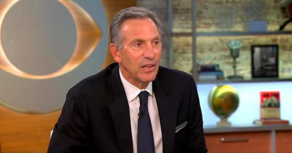 Howard Schultz and the media obsession with obsession